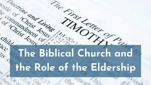 Elders and the Church